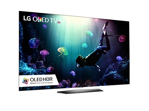 LG Electronics B6 Series Flat 4K Ultra HD Smart OLED TV (2016 Model)