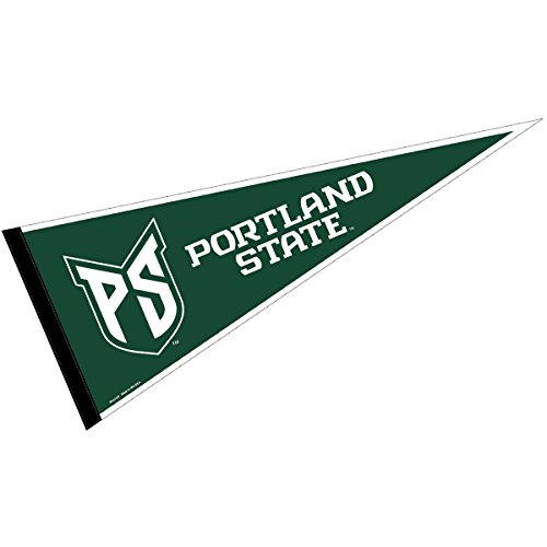 - College Flags and Banners Co. Portland State Vikings Pennant Full Size Felt