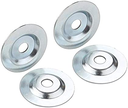 Amazon Com Od2 1 10 X Id 1 2 Bench Grinder Arbor Washer Flange For Grinding Wire Wheel 2sets Home Improvement