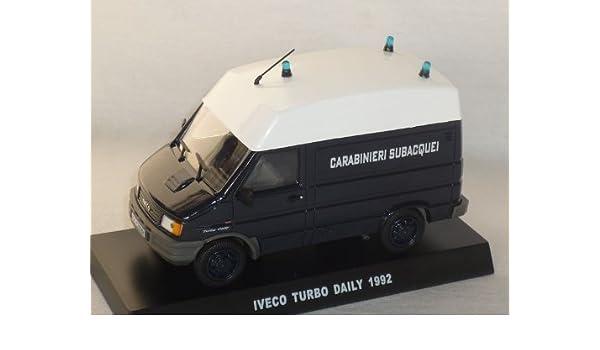 Carabineros de Agostini Iveco Turbo diario 1992 1/43 Diecast Policía: Amazon.es: Juguetes y juegos