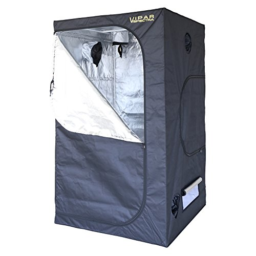 VIPARSPECTRA 48''x48''x80'' Reflective 600D Mylar Grow Tent for Hydroponic Indoor Plant Growing 4'x4' by VIPARSPECTRA