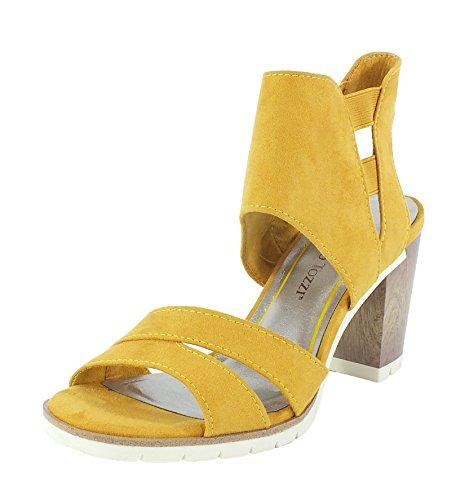Marco Tozzi 6966 Sandalette Saffron Saffron