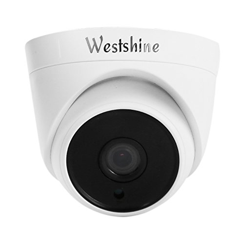 Westshine Security Dome Camera 1080P 2.0MP 1/2.7″ Sensor 3.6mm Lens 4-in-1 AHD/TVI/CVI/CVBS Camera with OSD Menu IR Cut 36 LEDs 100ft Night Vision Home Indoor Cameras Review