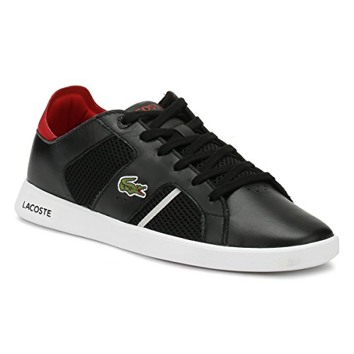 buy cheap Manchester Lacoste Men Shoes/Sneakers Novas CT I Black / Red cheap fashionable cheap official for sale xdiV1WVNsV