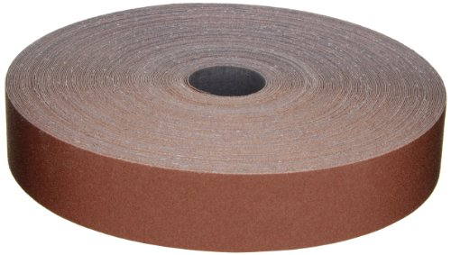 "3M Utility Cloth Roll 314D, Aluminum Oxide, 1-1/2"" Width x 50 yds Length, P100 Grit, Maroon (Pack of 1) from Cubitron"