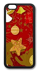 celebration of christmas TPU Case Cover for iPhone 6 Plus and iPhone 6 Plus 5.5 inch Black