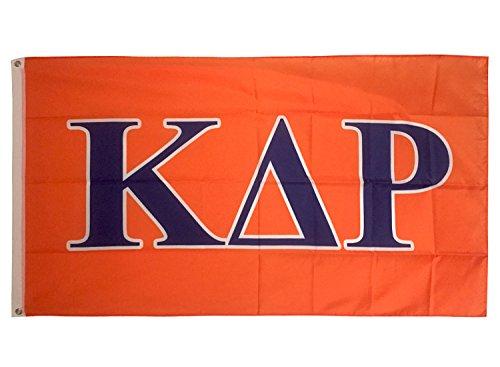 Kappa Delta Rho Letter Fraternity Flag Banner Greek Letter Sign Decor KDR Review
