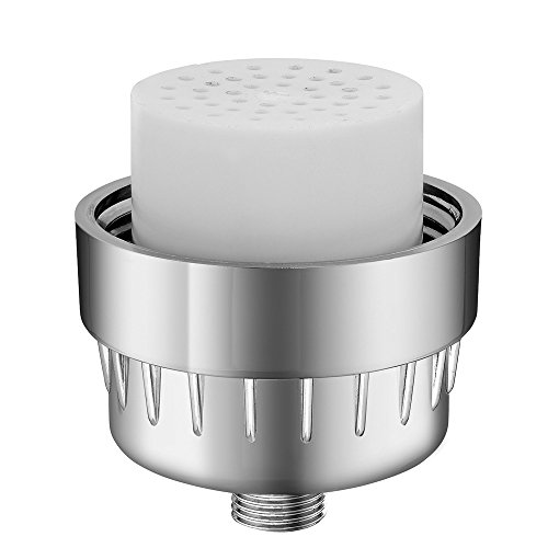 mancel high output luxury shower filter cartridge reduces dry itchy skin dandruff eczema. Black Bedroom Furniture Sets. Home Design Ideas