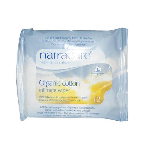 Amazon.com: Natracare Intimate Cotton Wipes 24x 12 CT: Health & Personal Care