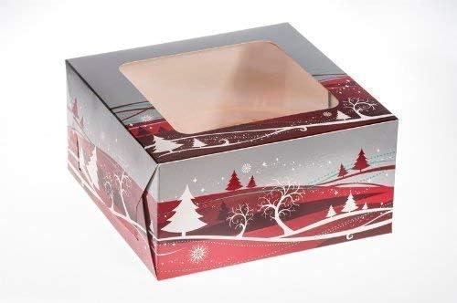 Pastel de Navidad Caja (10