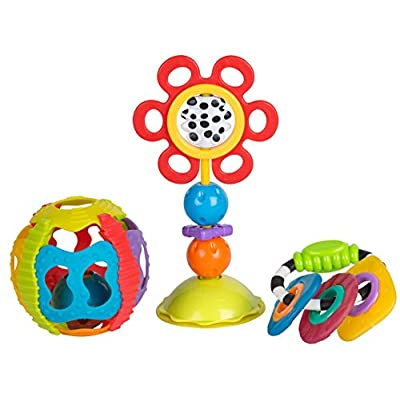 Playgro 0185258 Shake, Twist and Rattle Gift Pack for Baby Infant Toddler Children, Playgro is Encouraging Imagination with STEM/STEM for a Bright Future - Great Start for a World of Learning : Baby