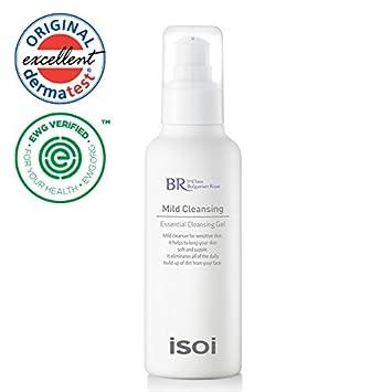 amazon com isoi bulgarian rose mild cleansing gel 130ml mild
