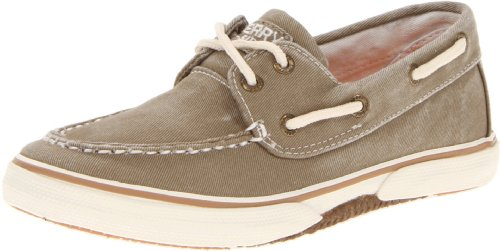Sperry Top Toddler (Sperry Halyard Boat Shoe (Toddler/Little Kid/Big Kid), Khaki, 6 M US Big Kid)
