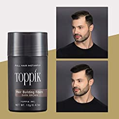 Toppik Hair Building Fibers, Dark Brown,...
