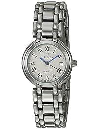 Haste 111441890 Reloj para Mujer, Redondo, Análogo, color Blanco y Plata