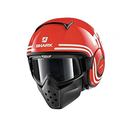 Shark casco jet Shark Micro, Negro Lacado, talla XL HE3200-02
