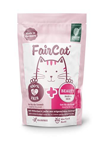 Green Petfood FairCat Beauty – Getreidefrei – Katzenfutter Nass 16x85g