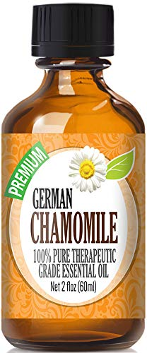 German Chamomile Essential Oil - 100% Pure Therapeutic Grade German Chamomile Oil - 60ml by Healing Solutions