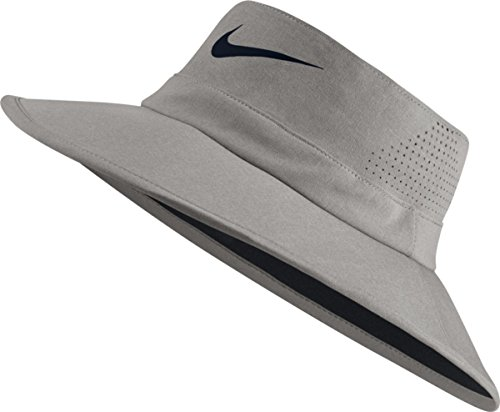 Nike Golf UV Sun Bucket Golf Hat 832687 (Medium/Large, Dark Grey Heather)