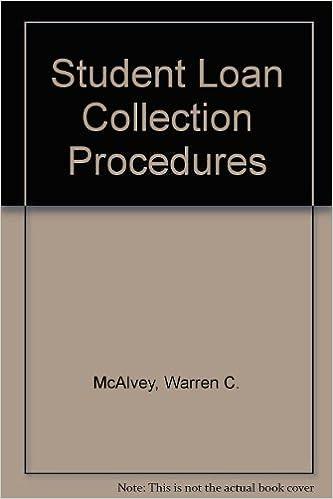 amazon student loan collection procedures warren c mcalvey