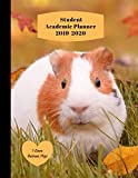 Student Academic Planner 2019-2020 I Love Guinea Pigs: Daily Organizer Calendar Class Schedule, School Assignment Tracker, Grade Log Book, Goals, Notes Pages, Weekly Monthly (School Organizer)