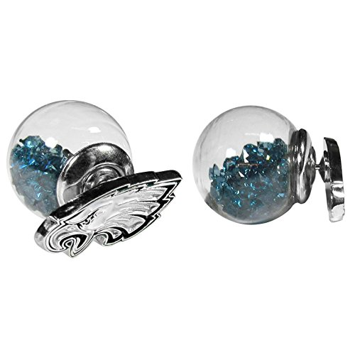 NFL Philadelphia Eagles Front/Back Stud Earrings
