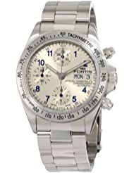 Fortis Mens 630.10.92 M Cosmonauts Chronograph Stainless Steel Watch