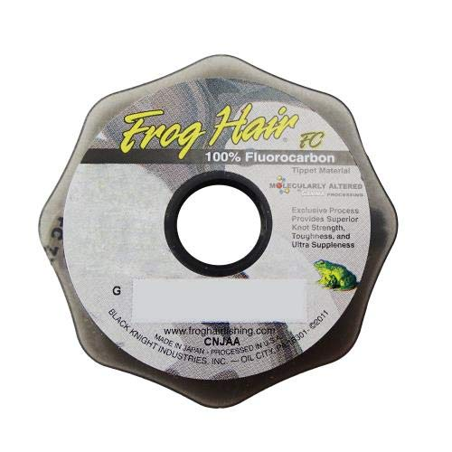 - Frog Hair Fluorocarbon 25 Meter Tippet Spools 0x - 7x (6x)