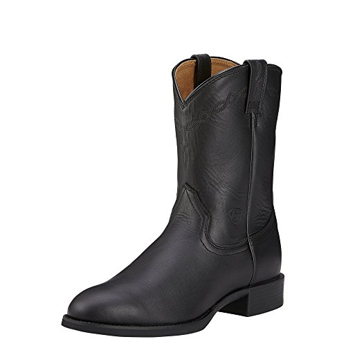 Mens Black Riding Boots - 9
