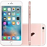 Apple iPhone 6S, Chip A9, iOS 9, Tela 4,7´, 128GB, Câmera 12MP, 4G, Desbloqueado MKQW2 / A - Rosé