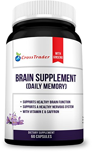 Natural Brain Supplement Boosters Nootropic product image