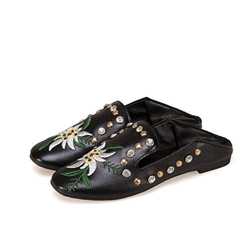 de de primavera zapatos Remache piso Thirty zapatos mujer mujer en Donyyyy y dos de en verano five nuevos el abajo 0BAExqw