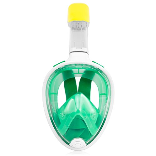 TECHMAX Snorkel Mask 180° View Full Fac - Alien Full Face Shopping Results