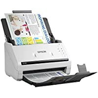 Epson DS-530 Document Scanner (compare w/ Fujitsu iX500): 35ppm, TWAIN & ISIS Drivers, 3-Year Warranty with Next Business Day Replacement