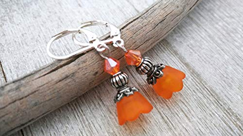 Lucite Beaded Earrings - 7