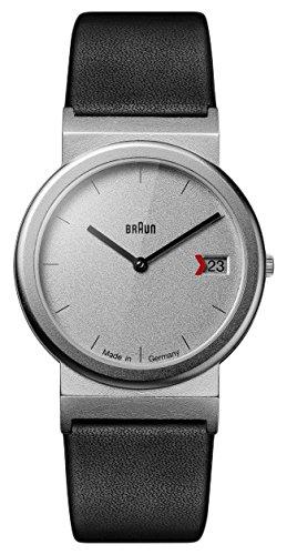 BRAUN Reloj Analogico para Unisex de Cuarzo con Correa en Cuero AW50 Return of AN Icon: Amazon.es: Relojes