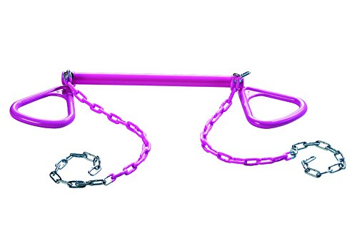 CREATIVE CEDAR DESIGNS Ultimate Triangle Rings & Trapeze bar- Pink, One - Pink Trapeze