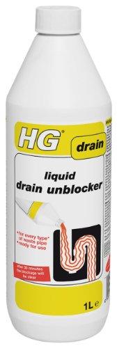 HG Liquid Drain Unblocker 1L - Unblocks your drain within 30 minutes