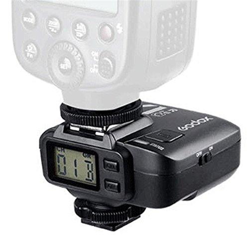 Godox X1R-C 32 Channels 2.4GHz Wireless Hot Shoe Flash Trigger Receiver for Canon DSLR 400D/500D Set/600 D Set/700D Set/60D/6D/70D/7D/760D/1D Set/5D/5D II/5D III Set