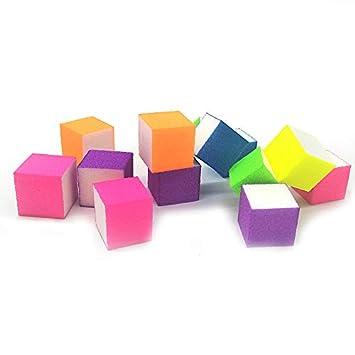 Amazon.com : Nail File - New 20 Pcs Neon Mini Nail File Block ...