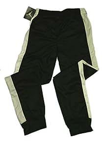Nike Jordan Basketball/Track Warm-Up Fleece Pants (Large, Black/White)