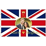 Giant Prince Harry & Meghan Royal Wedding Flag