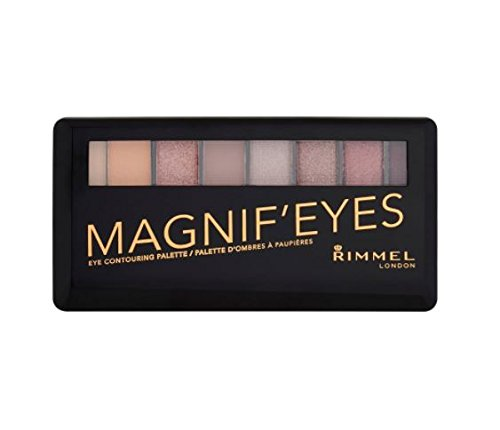 Rimmel London Magnif'eyes Eyeshadow Palette, London Nudes Ca