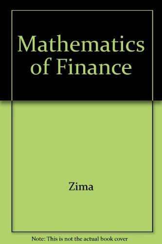 Mathematics of Finance