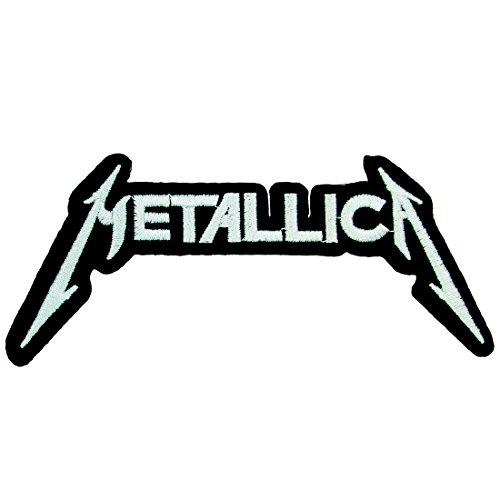 MNC Metallica Rock Band Iron on Embroidered Patches