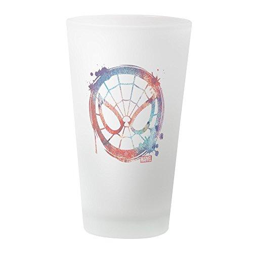 CafePress Spider Man Icon Splatter Pint Glass, 16 oz. Drinking Glass