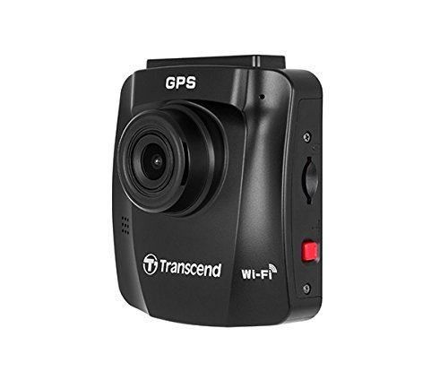 Transcend DrivePro 230 1080p HD Wi-Fi GPS Car Dashboard Video Camera with Suction Cup includes 16GB microSD Card