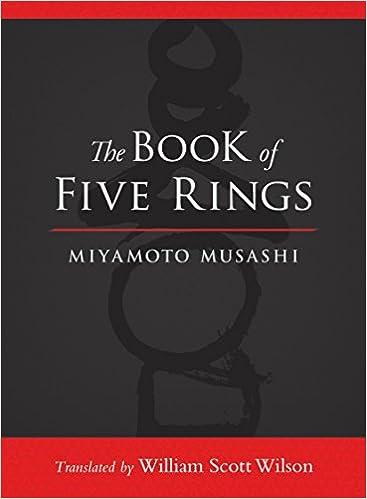 amazon the book of five rings miyamoto musashi william scott