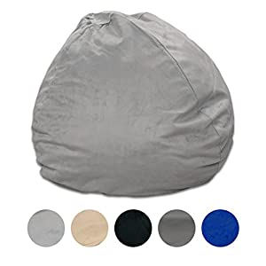Pillowtex Quality Kids Memory Foam Bean Bag Chair – 3ft Bags with Removable Washable Cover
