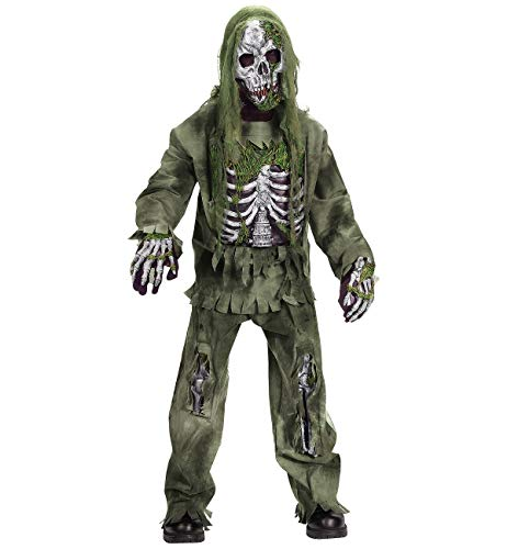 Scariest Halloween Costumes In The World (Fun World Skeleton Zombie Costume, Large 12 - 14,)